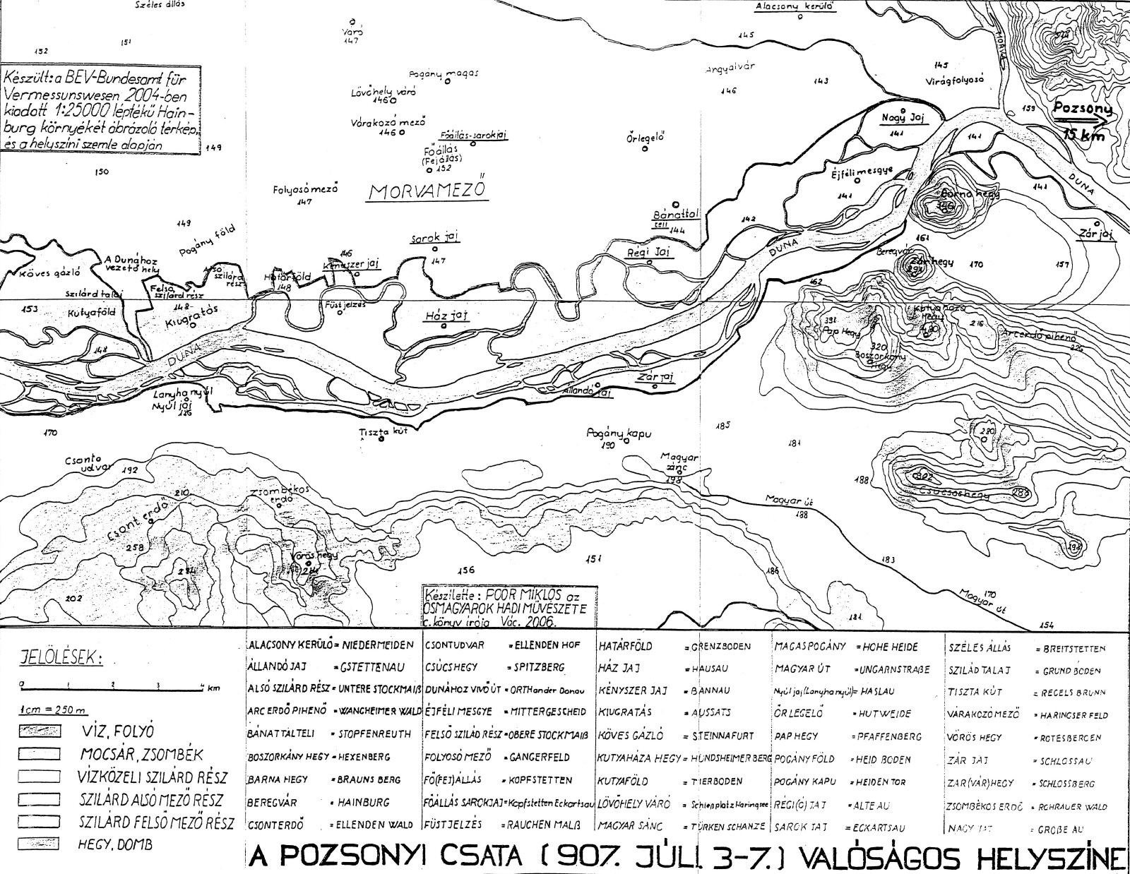 73 best hungarian history 8951000 hungarian conquest map of the battle of pressburg biocorpaavc